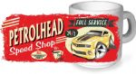 Koolart PERTOLHEAD SPEED SHOP Design For New Yellow Chevy Camero Ceramic Tea Or Coffee Mug